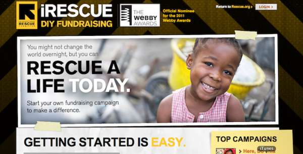 Refugee Fundraising Sites