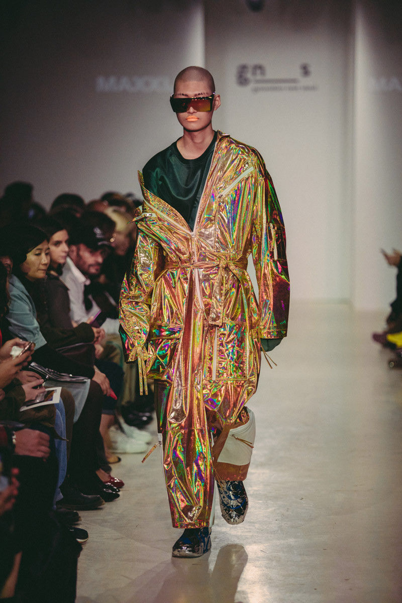 Travel-Inspired Iridescent Clothing Lines