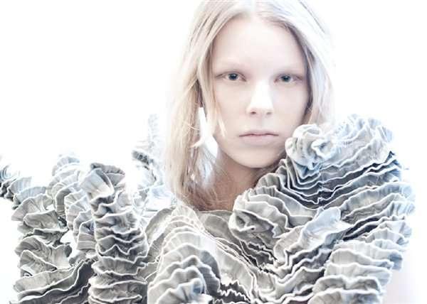 Sculptural Haute Couture