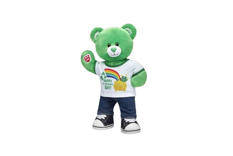 Irish Holiday Teddy Bears