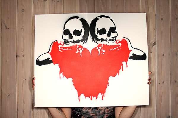 Violent Art Stencils