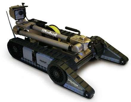 iRobot's Bomb Defusing PackBot 510