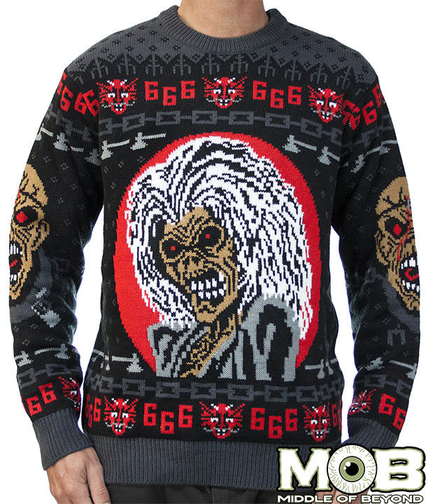 heavy metal christmas sweaters - Heavy Metal Christmas