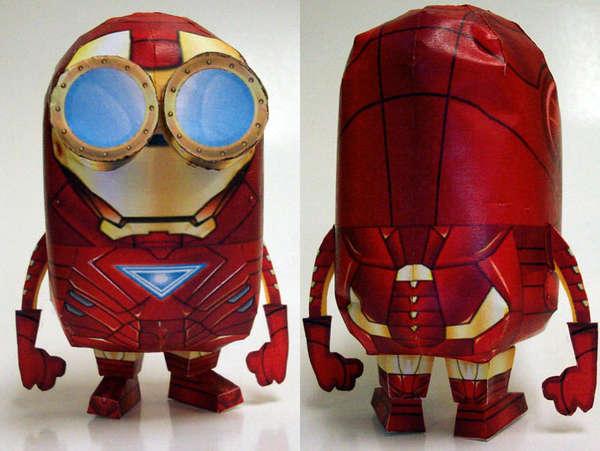 Sinister Superhero Paper Crafts