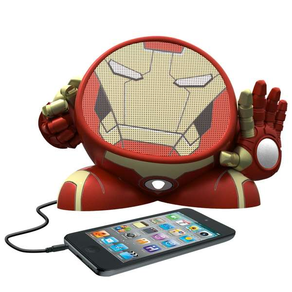 Flattened Superhero Audio Devices