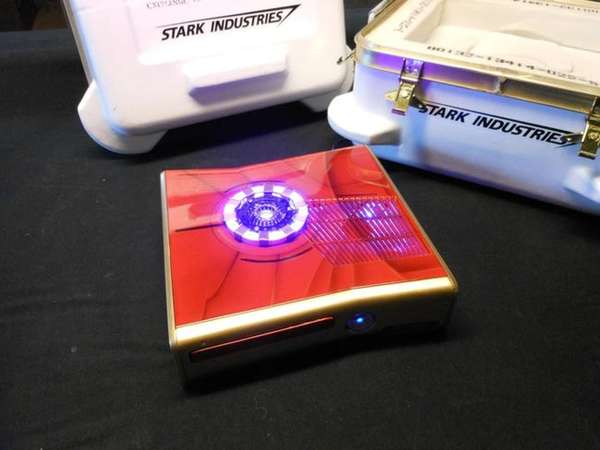 Customized Superhero Consoles