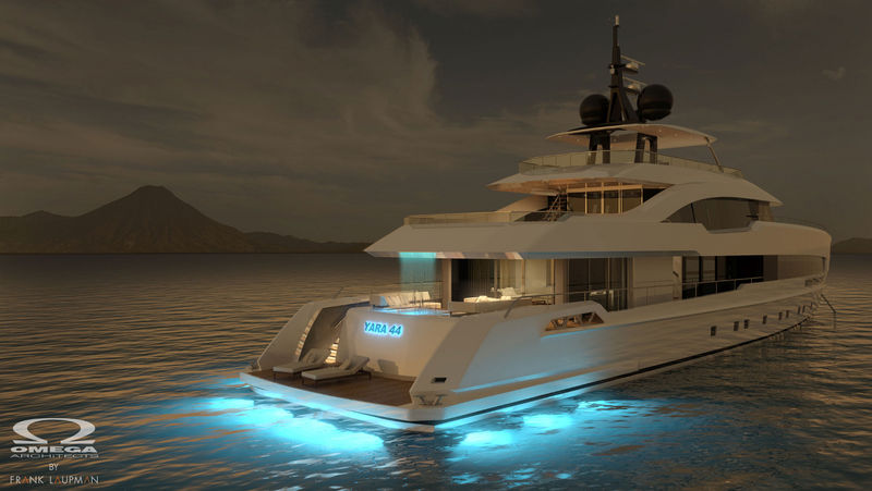 Expansive Open-Air Yachts
