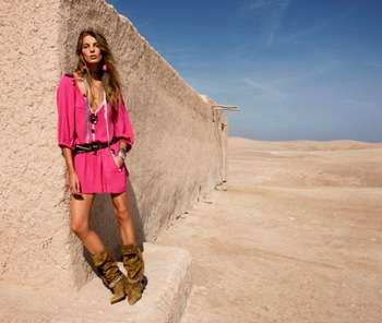 Vibrant Desert Fashion