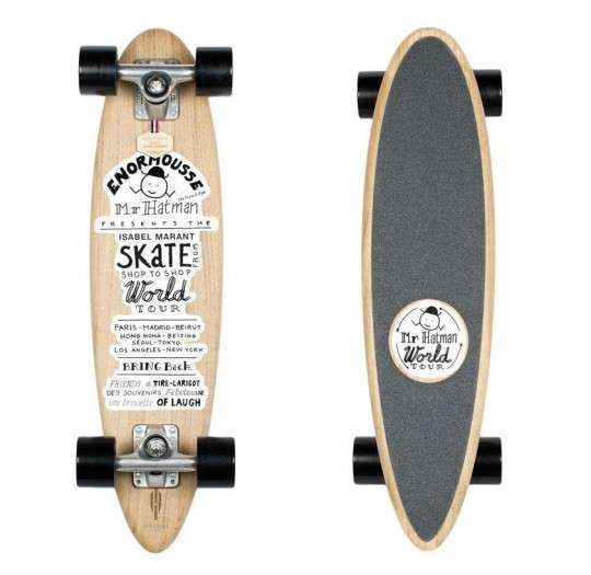 Chic Illustrated Longboards
