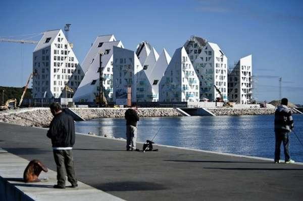 Iceberg-Shaped Housing