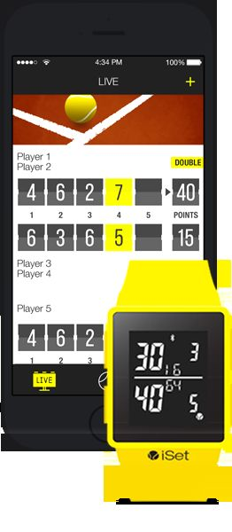 Tennis Score-Keeping Smartwatches