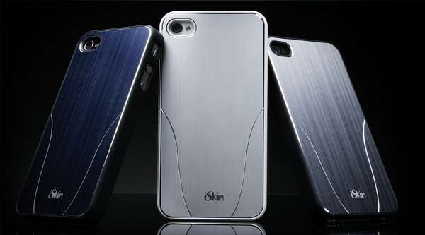 Slick Metallic Smartphone Covers