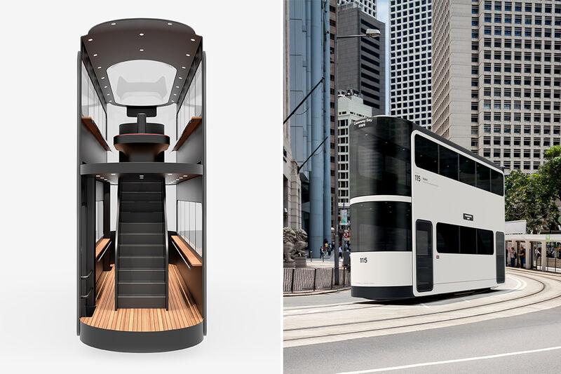 Social Distancing Transport Trams