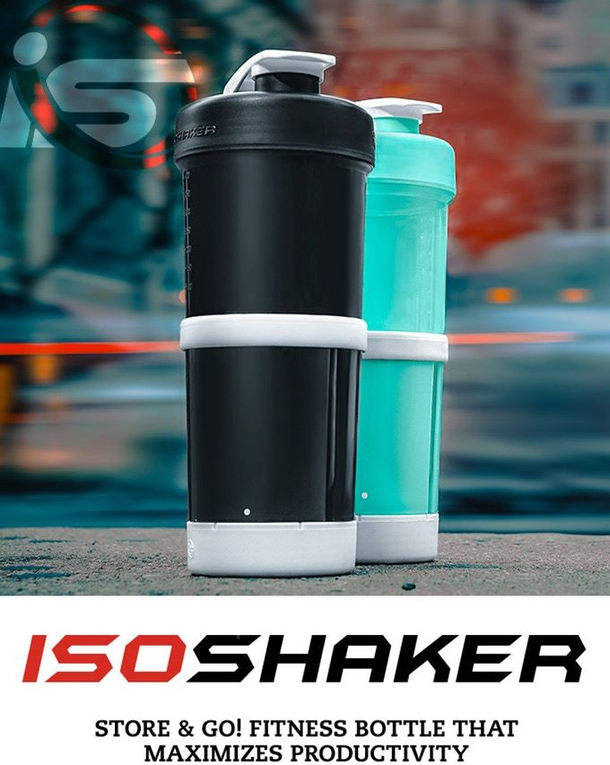 Multi-Compartment Fitness Bottles
