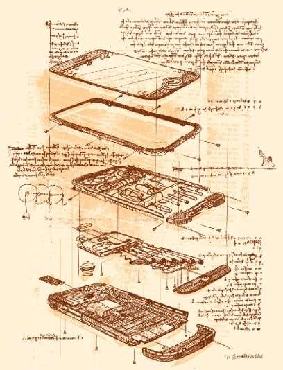 Da Vinci Smartphone Designs
