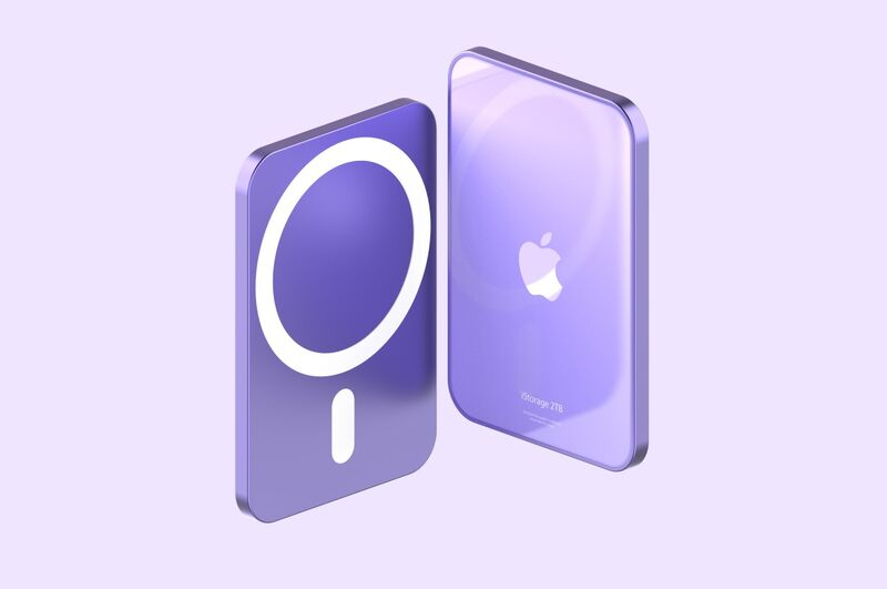 Magnetic Smartphone Storage Drives