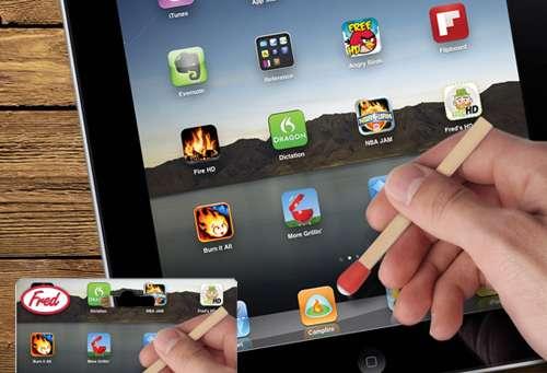 Matchstick iPad Pens