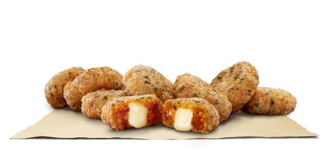 Cheesy Sauce-Infused Snacks