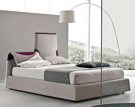 Bendy Headboards The Italian Contemporary Bed Is Perfect
