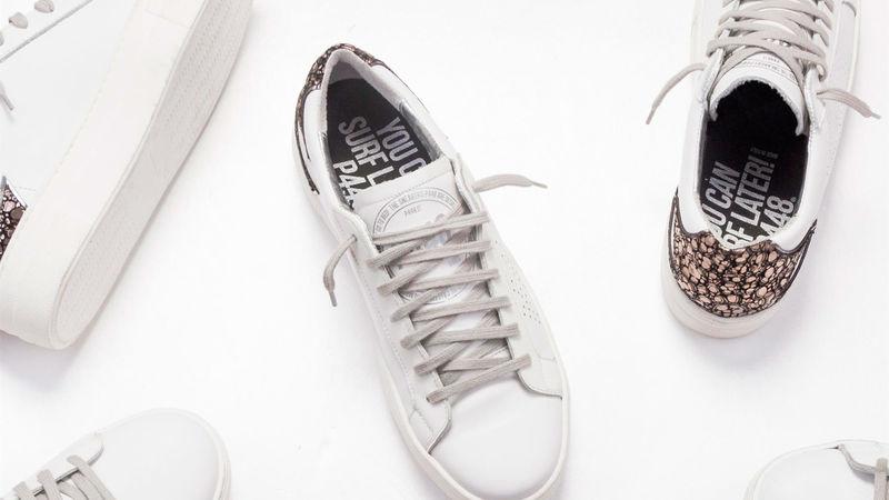 Textured Italian Sneakers
