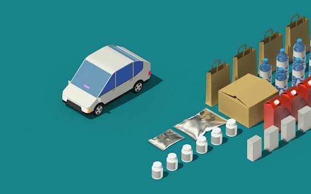 Ride-Hailing Essential Item Deliveries