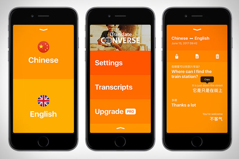 Conversational Translation Apps
