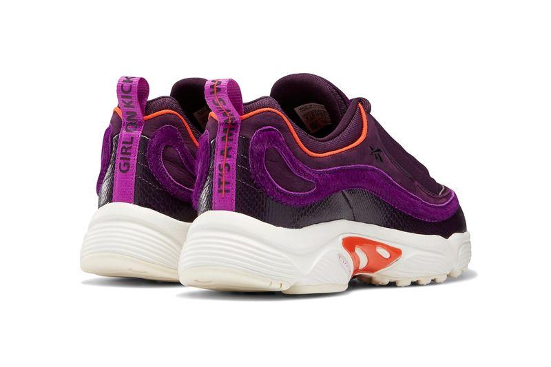 Purple Plush Sneakers