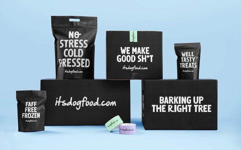 Straightforward Dog Food Branding