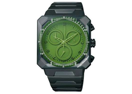 Green-Eyed Timepieces