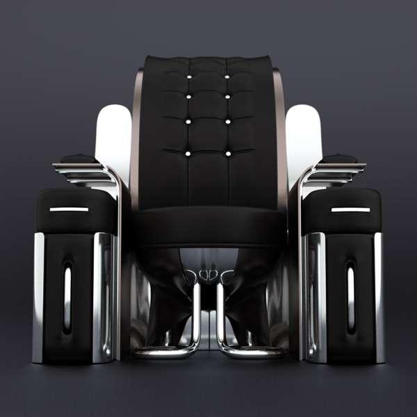 Refined Futuristic Furniture Futuristic Furniture