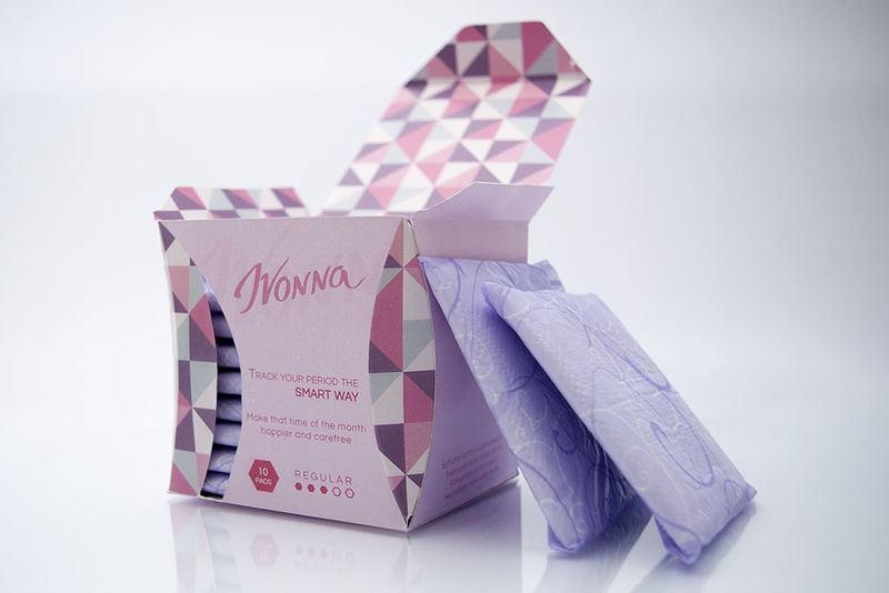 QR-Connected Menstrual Products