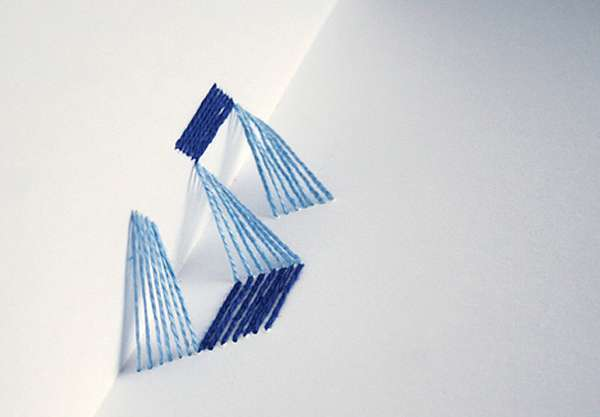 3D Threaded Alphabets