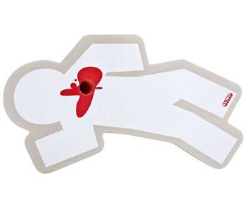 Crime Scene Stationery