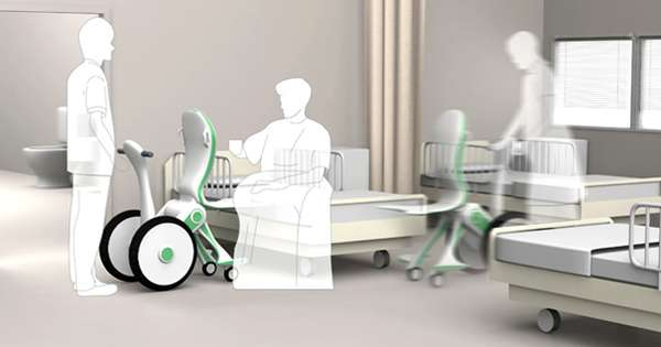 Futuristic Ergonomic Wheelchairs