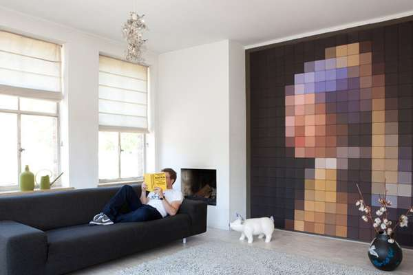 Pixelated Painting Covers