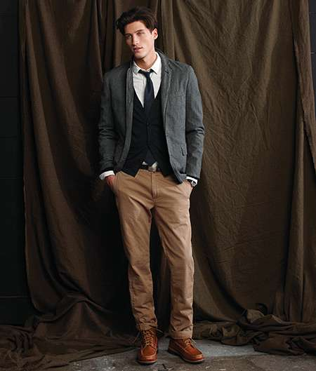 Clean-Cut Fall Menswear