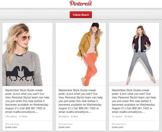Fashion Campaigns on Social Media