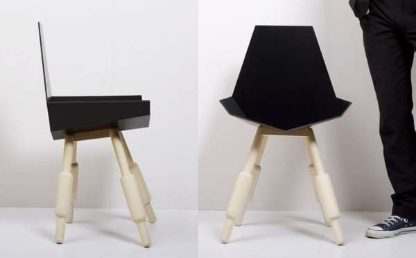 Poodle-Legged Chairs