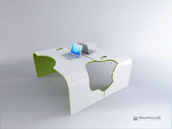 Conjoined Fruit-Inspired Furniture