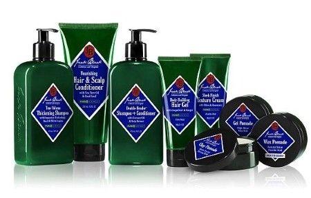 Gentleman-Targeting Hair Products