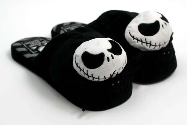 Creepy Skeletal Slippers