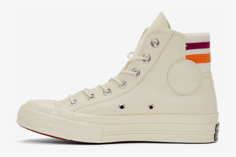 Retro-Inspired Thick-Soled Sneakers
