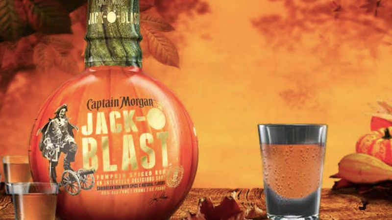 Gourd-Shaped Rum Bottles