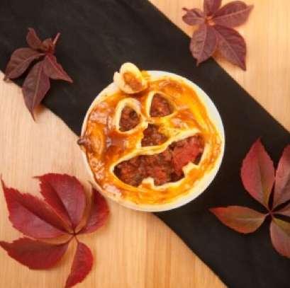 Pumpkin-Inspired Meat Sandwiches