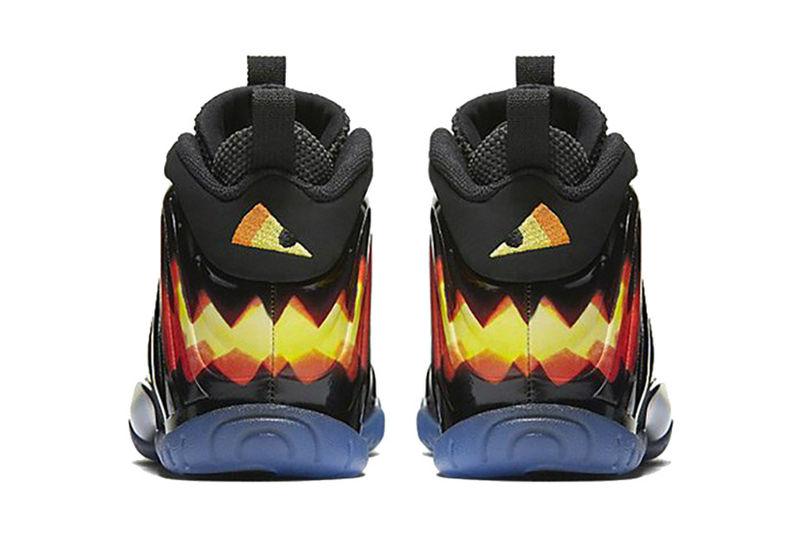 Kid's Jack-o'-Lantern Sneakers