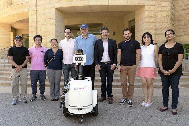 Self-Navigating Robots