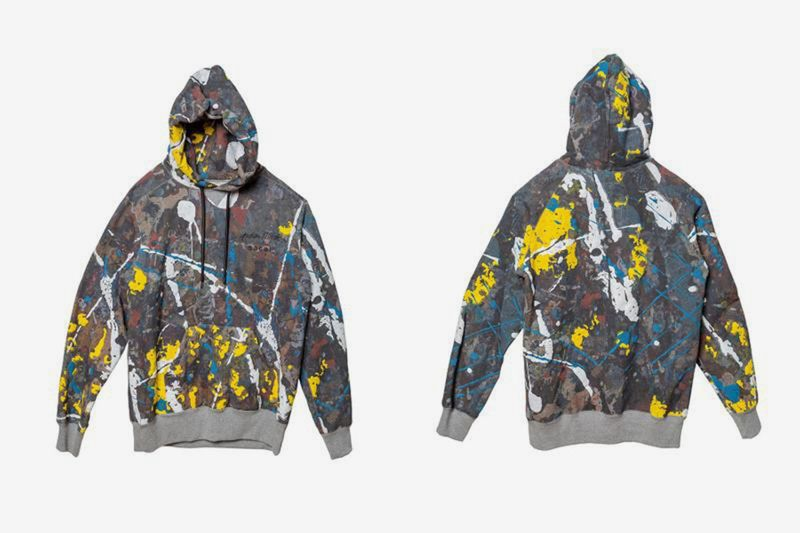 Paint-Splatter Collaborative Fashion - sacai Launches the Jackson Pollock Collection With the Artist (TrendHunter.com)