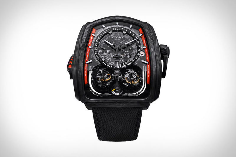 Hypercar-Inspired Timepieces