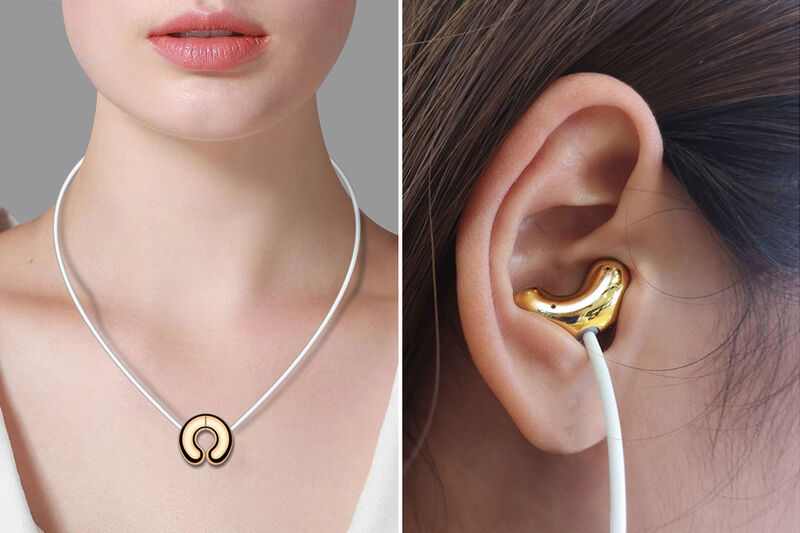 Magnetic Headphone Necklaces