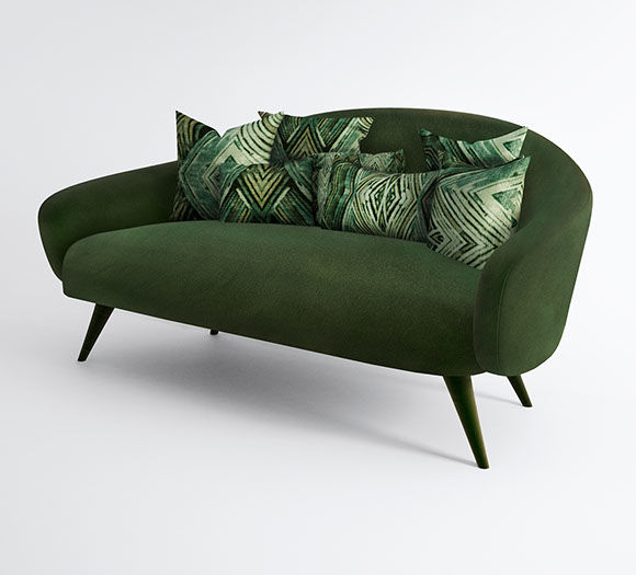 Gemstone-Inspired Sofas